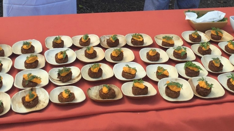 Food from the 2016 Worlds of Flavors Conference