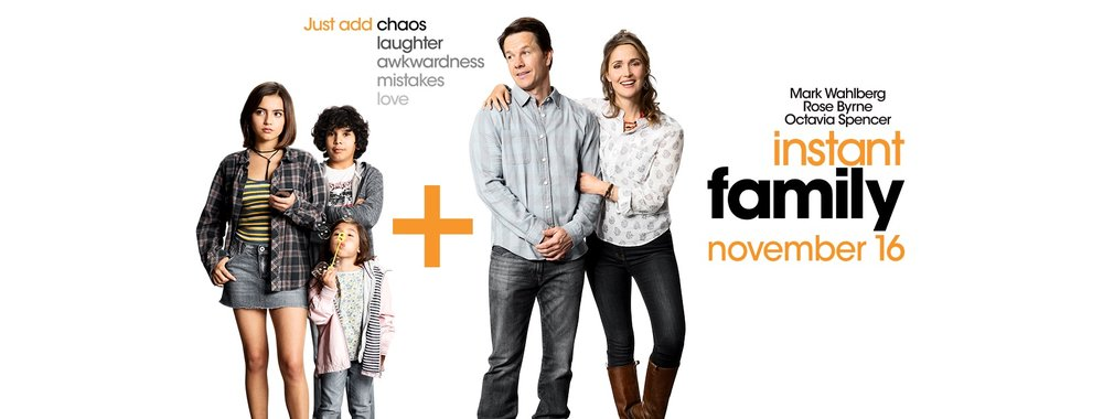 Family comes in many shapes and forms, and director Sean Anders is sharing his family's story in  Instant Family  in theaters on November 16th.