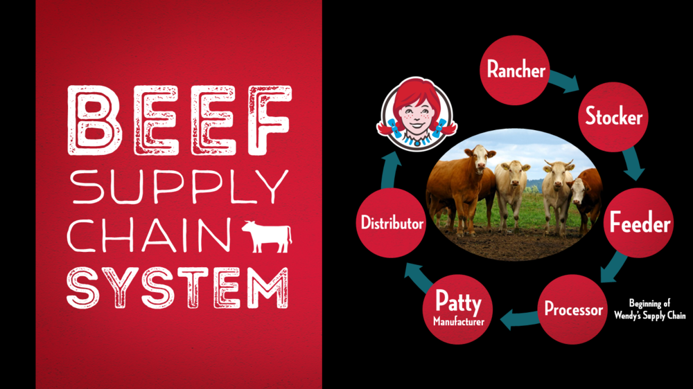 The Wendy's Beef Supply Chain System