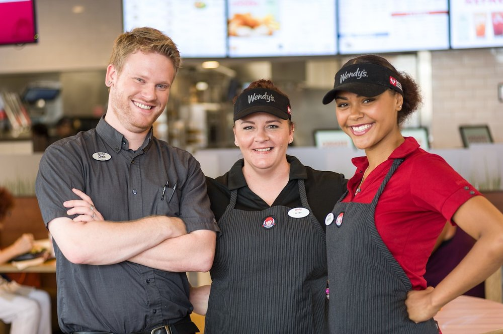 Working at Wendy's means becoming a part of the family.