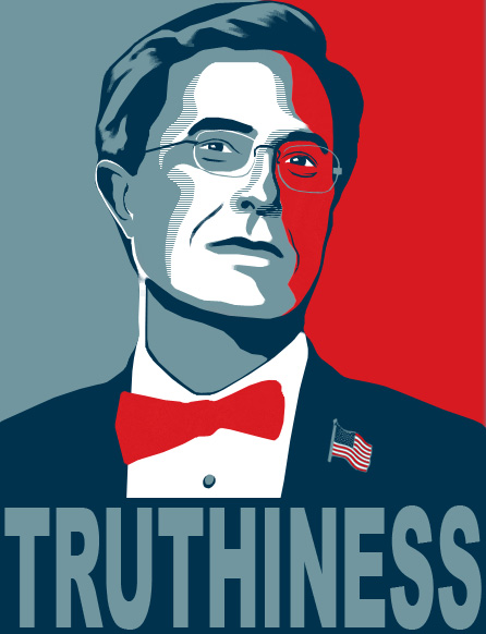 'Stephen Colbert' == 'truthy'