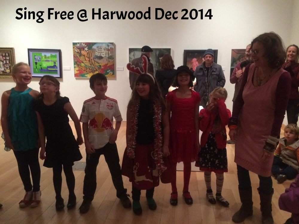 Sing Free @ Harwood Dec. 2014
