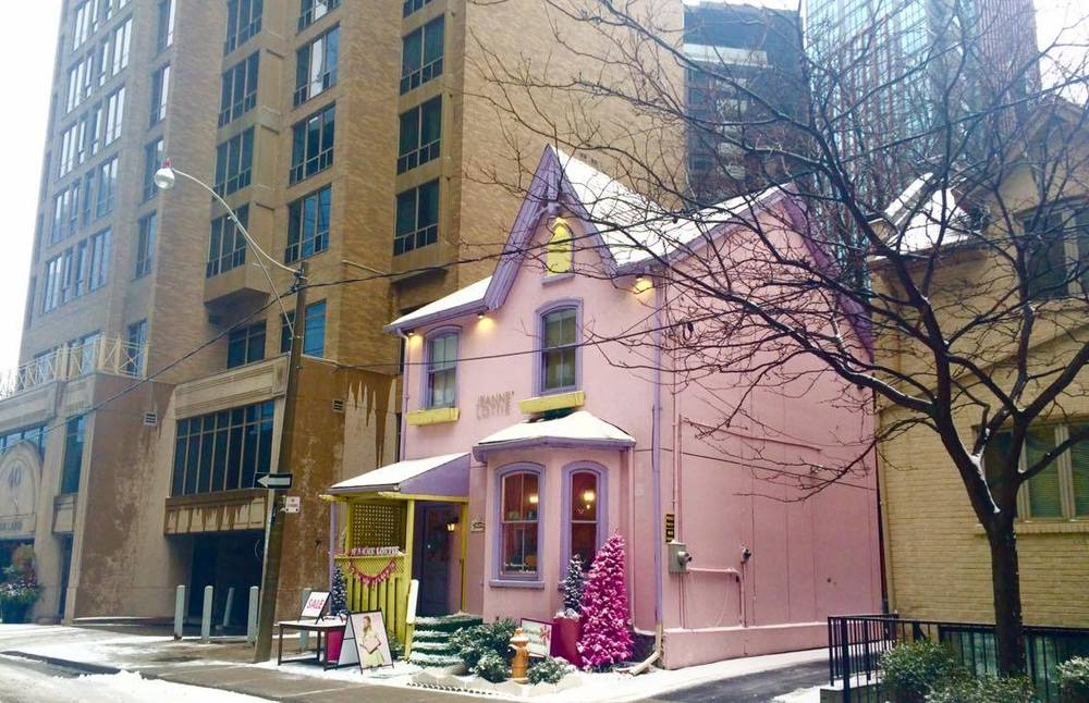 The Pink House in Yorkville