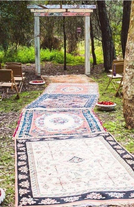 The easiest way to make your ceremony uniquely yours is have it exactly where you want it - which could be outside!