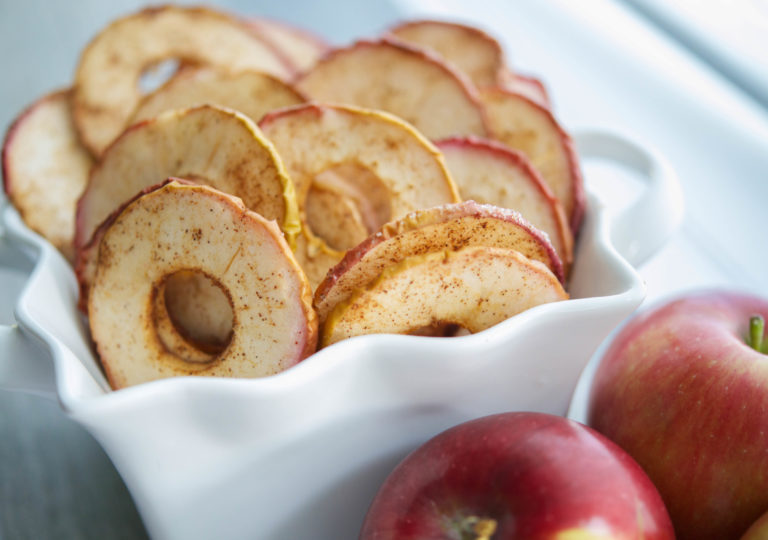 Psst, click the apples for a yummy recipe!