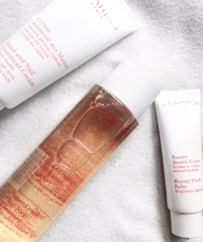 Current faves: all about the Clarins.
