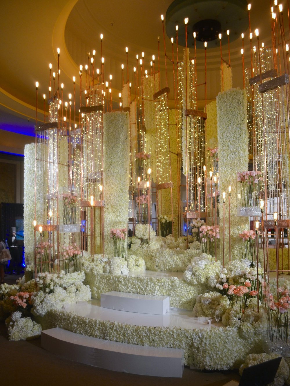 Magic created by Opus Events Production