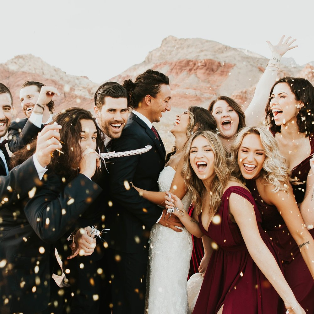 Aaron and Ashlea's New Year's Eve wedding in Las Vegas