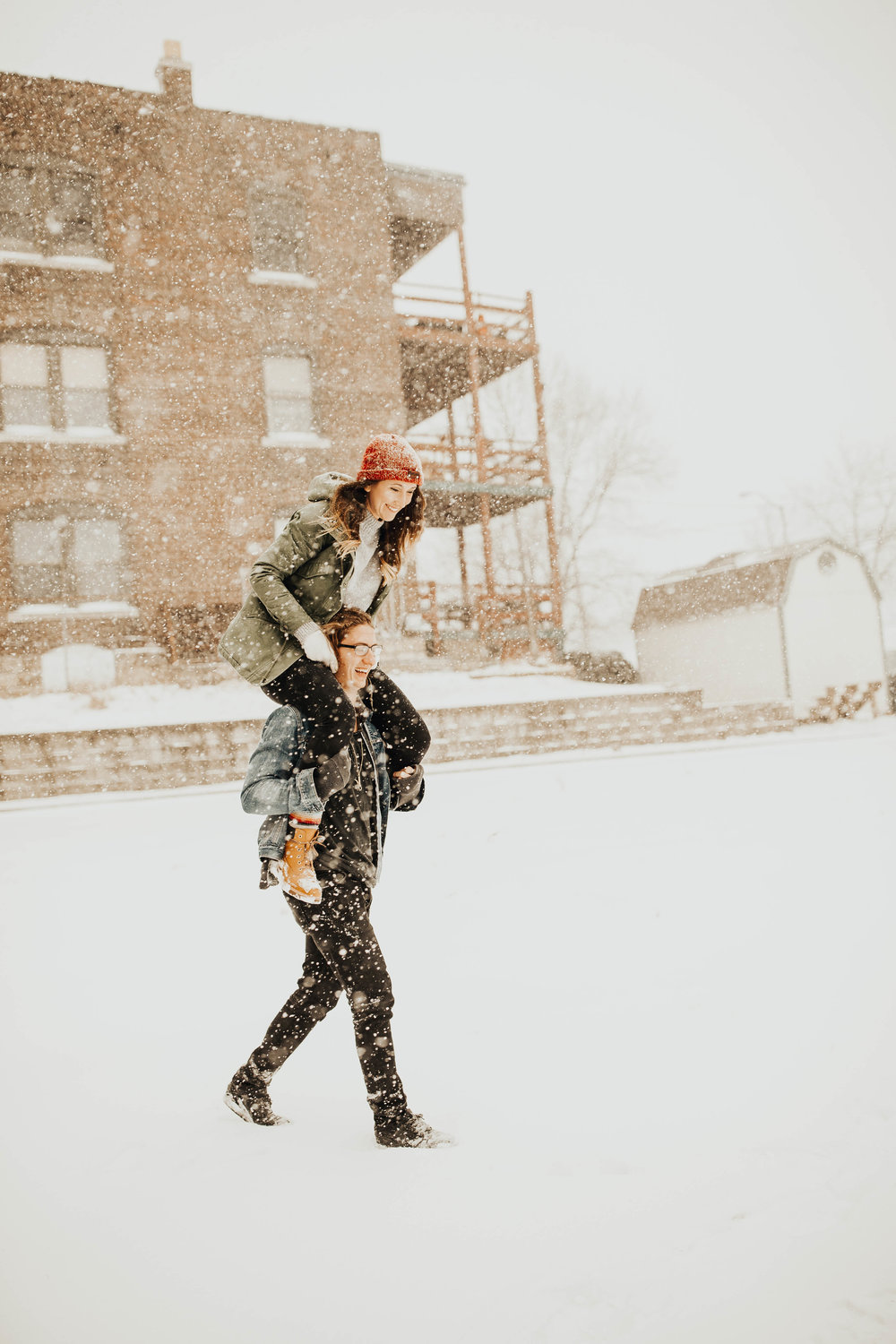DJ and Erin Kansas City Snowfall Engagement 11.jpg