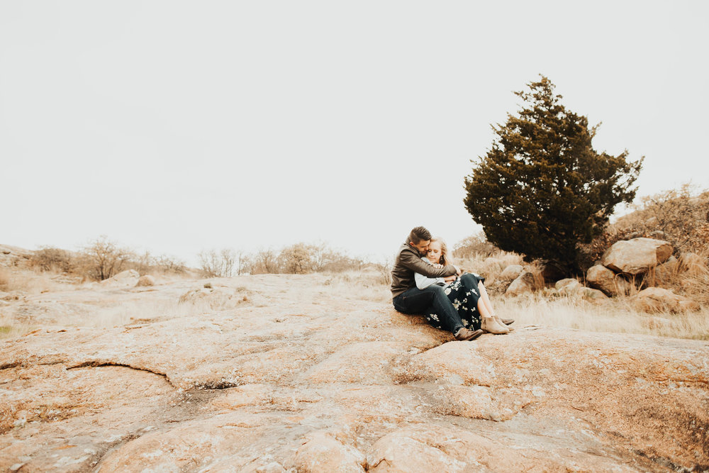 Tyler and Jessica Wichita Mountains Engagement Shoot 45.jpg