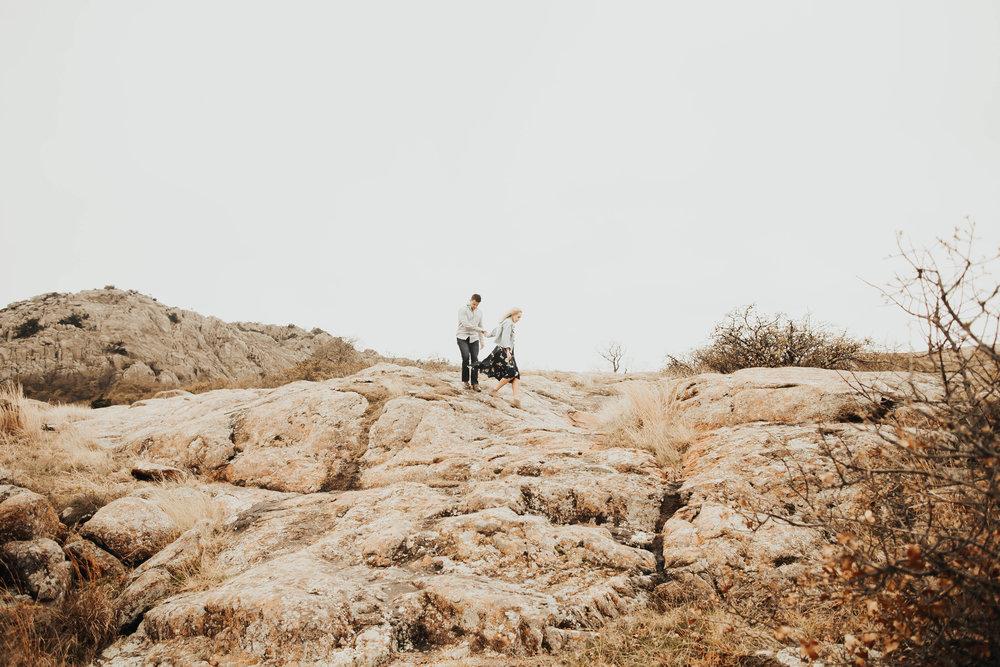 Tyler and Jessica Wichita Mountains Engagement Shoot 75.jpg