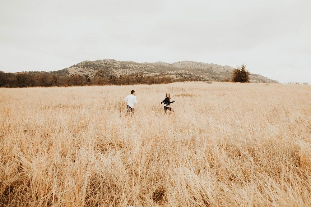 Tyler and Jessica Wichita Mountains Engagement Shoot 97.jpg