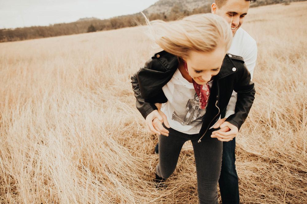 Tyler and Jessica Wichita Mountains Engagement Shoot 100.jpg