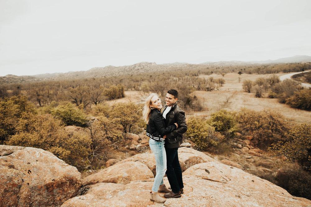 Tyler and Jessica Wichita Mountains Engagement Shoot 200.jpg
