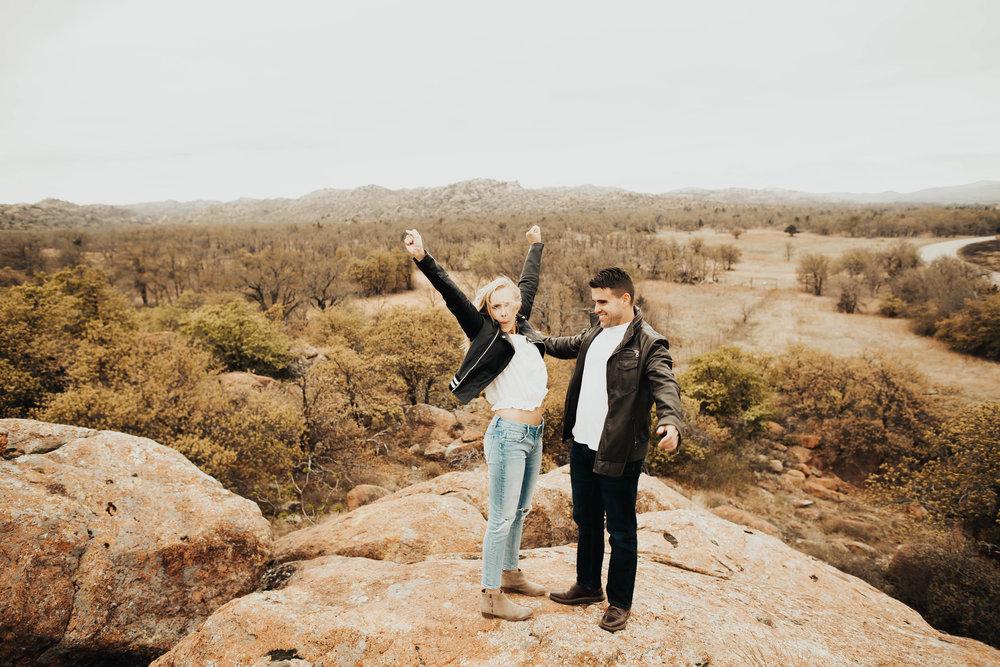 Tyler and Jessica Wichita Mountains Engagement Shoot 208.jpg