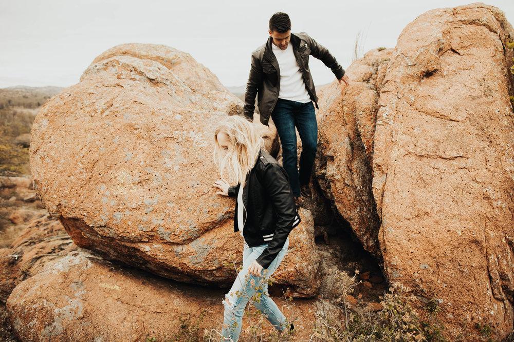 Tyler and Jessica Wichita Mountains Engagement Shoot 217.jpg