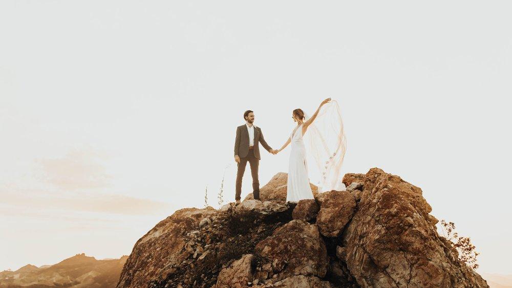 Wedding at Malibu Rocky Oaks - David + Katrina