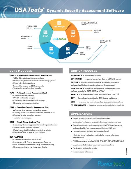 DSATools Overview Brochure→