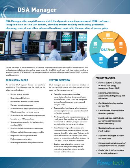 DSA Manager brochure→