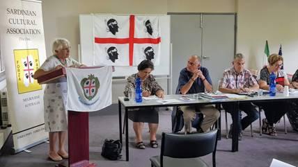"""Special Guest - Gabriella Gomersall-Hubbard Reporting on the Regional Project """"Sapori & Profumi della Cucina Sarda in Australia"""""""
