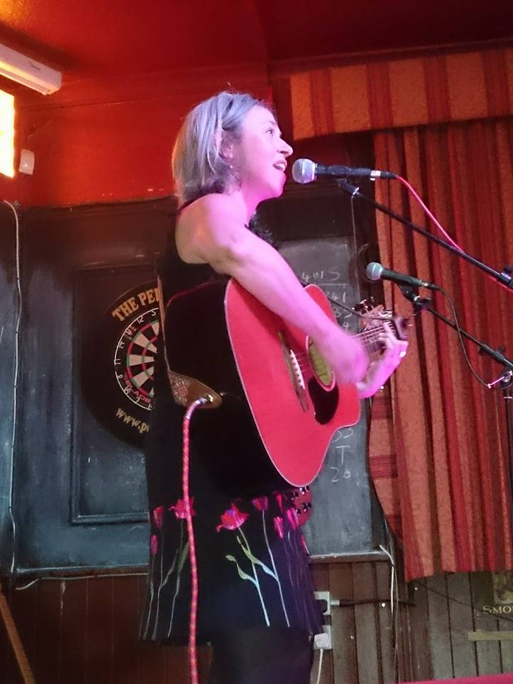 Jo at the Pelton Arms for Icarus Acoustic Club