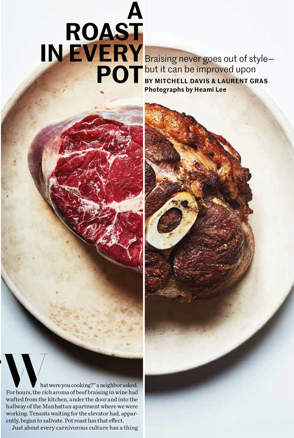 Saveur. A Roast In Every Pot.
