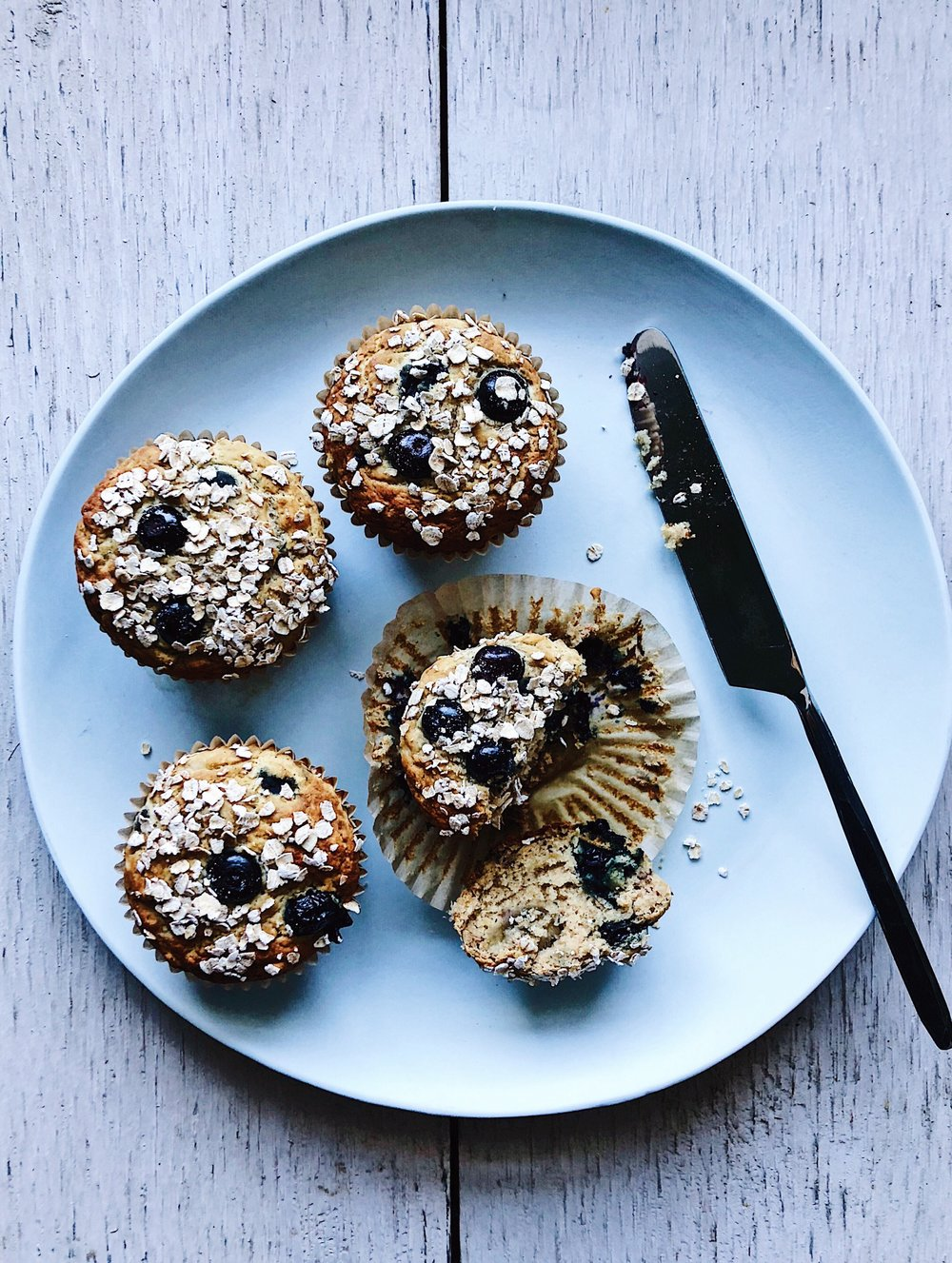 Blueberry-Banana Antioxidant Muffins .JPG