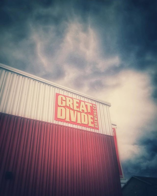 Thanks @greatdividebrew for the awesome tour and of course, great beer!  #denver #colorado #greatdivide #brewery