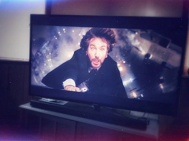 Well, I guess it's officially Christmas 🎄now. #diehard #hansgruber #nakatomiplaza #hohohonowihaveamachinegun #christmas #alanrickman #diehardchristmas #actionmovie #movieclassic #merrychristmas