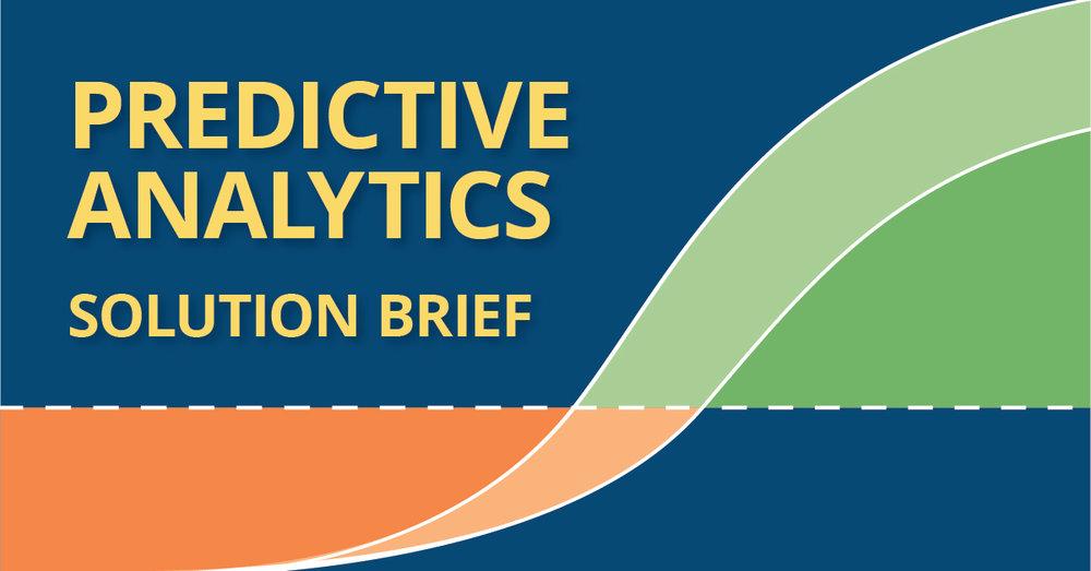 predictive analytics solution brief