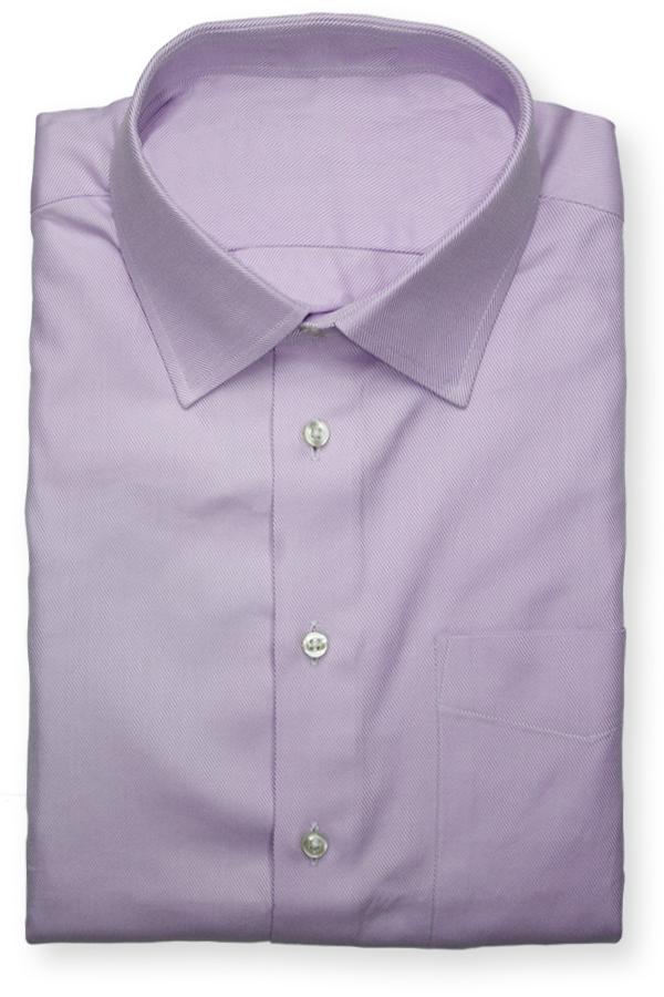 Light Purple Twill Dress Shirt