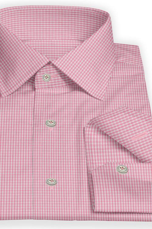 Pink Multi Grid Check