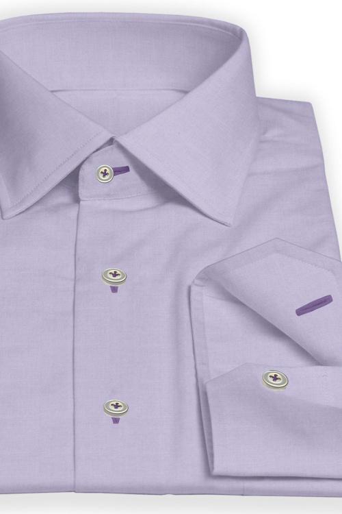 Lavender Fine Serged Shirt