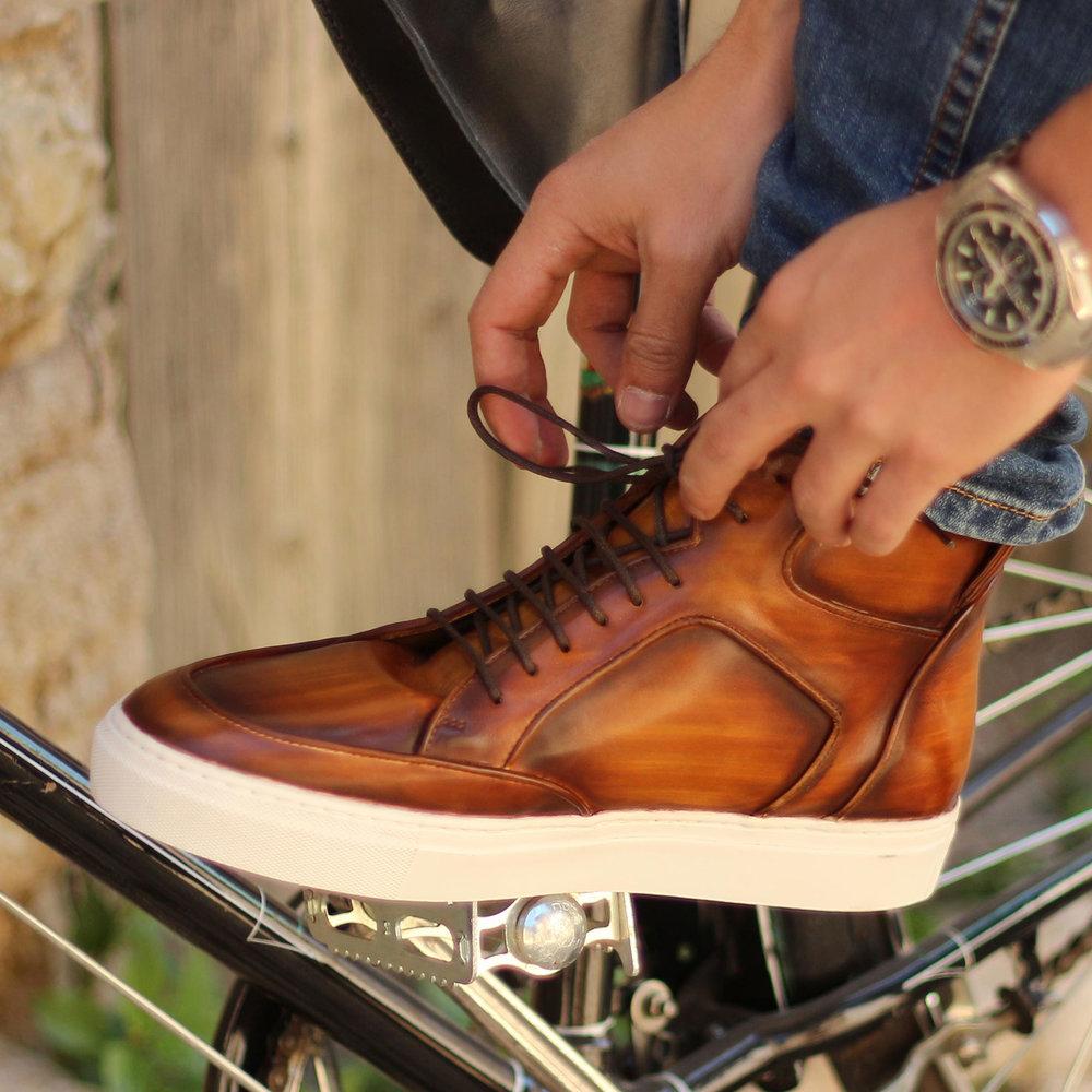 Manuél High Top Sneaker Cognac Patina.jpg