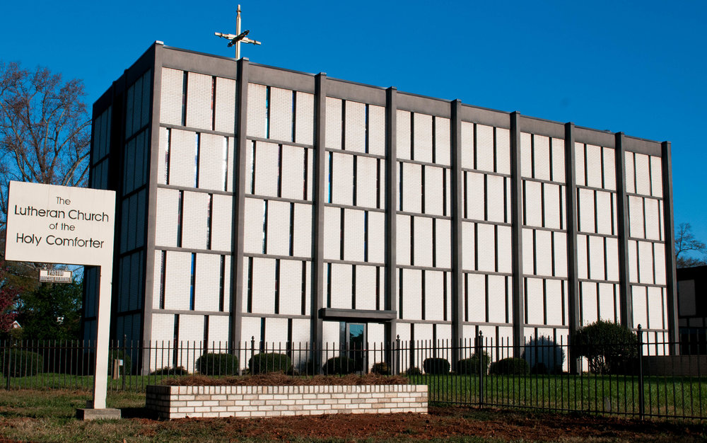 Lutheran Church of the Holy Comforter, Cir. 1959