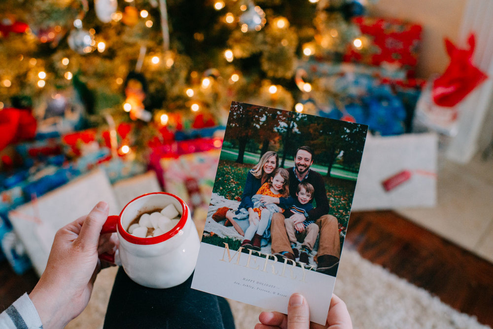 Be Merry: Christmas Cards with Artifact Uprising — Ashley Glass