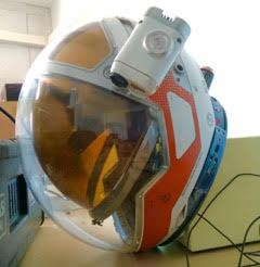 Helmet used for Worldalizing 'The Martian' Film