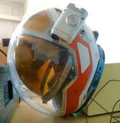 Helmet used for Worldalizing 'The Martian' Film