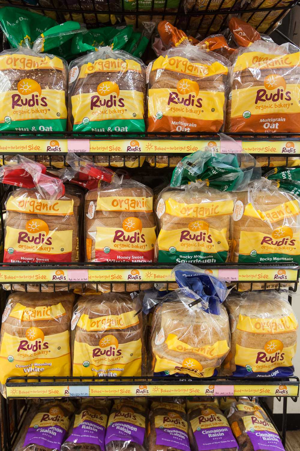 Rudi's Organic Bread in Mana Foods Grocery Department