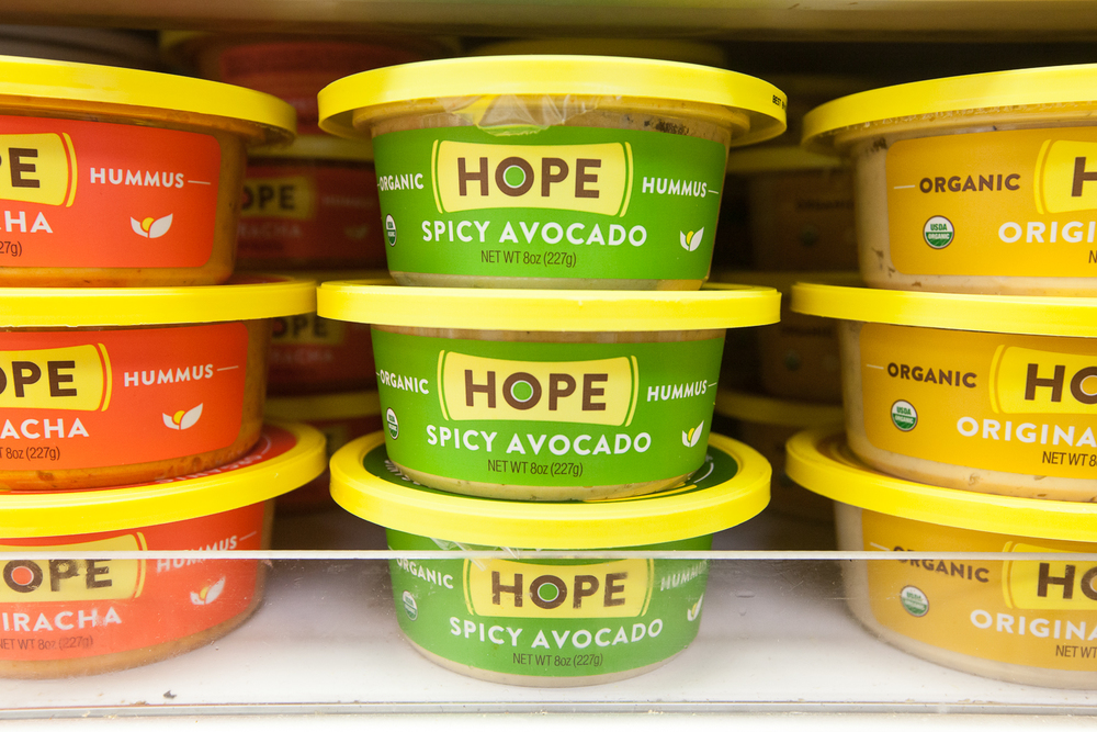 Organic Hummus by Hope Brand
