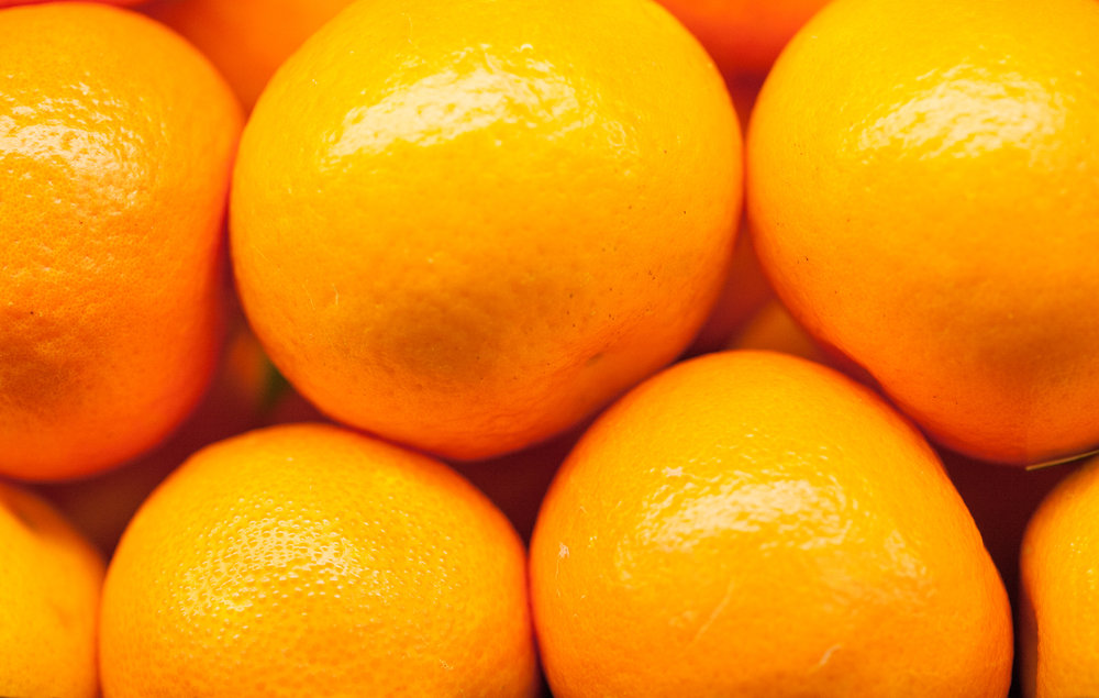 Organic Oranges From Mana Foods Produce Department