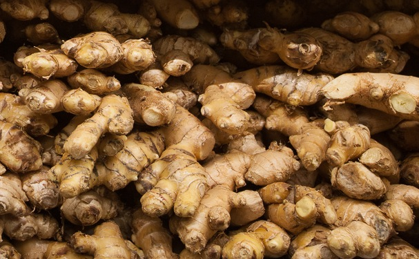 Ginger Root from Mana Foods Produce Department