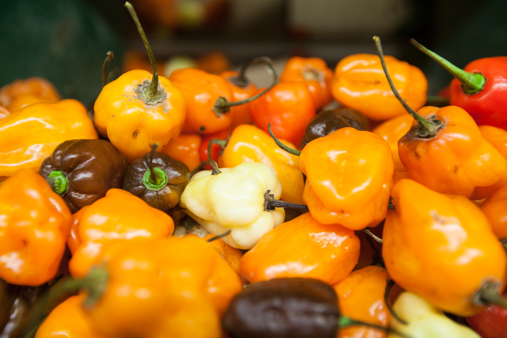 peppers from Mana Foods Produce Department