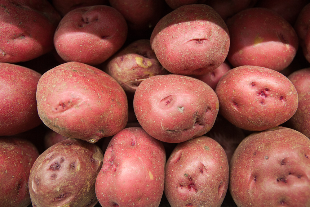 organic red potatoes from Mana Foods Produce Department