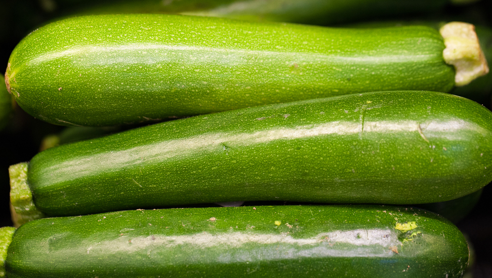 Organic zucchini From Mana Foods Produce Department