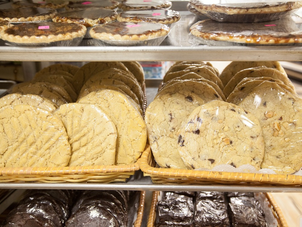 Fresh Baked Cookie Selection Mana Foods Bakery