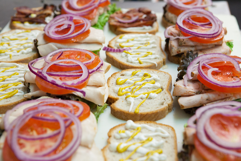 Premium Organic Sandwiches Prepared By Mana Foods Deli