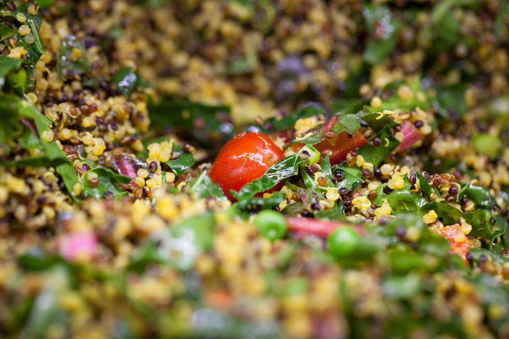 Organic Quinoa Salad Mana Foods Deli