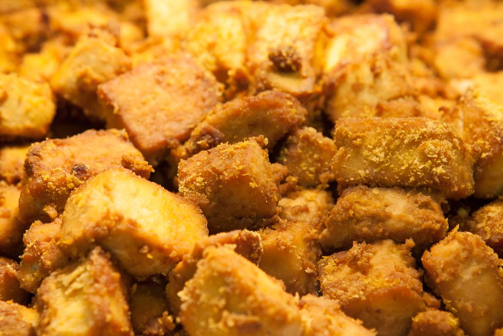 baked organic tofu from mana foods deli