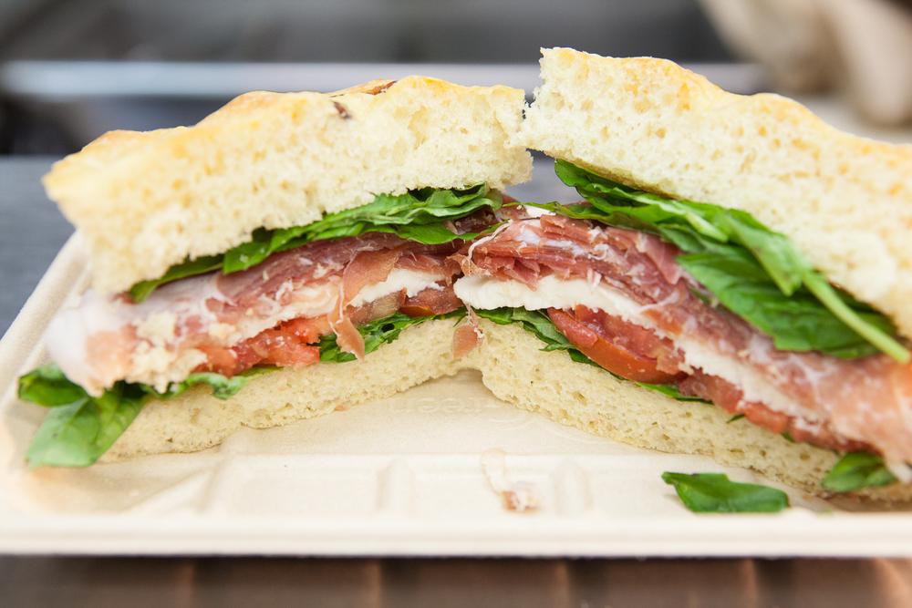 Organic Sandwiches Prepared by Mana Foods Deil